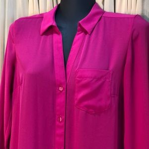 The Limited Pink Blouse XS Portofino Style